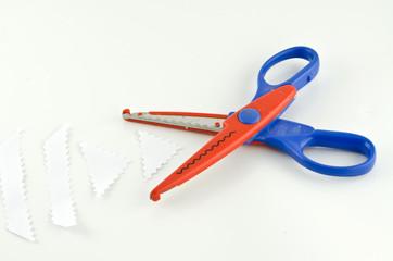 Scissors Curve line for paper