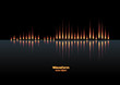 Flaming sound waveform