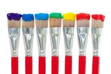 Fototapety Palette de pinceaux