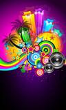 Tropical Event Disco Flyer