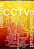 CCTV word cloud poster
