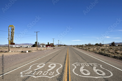 Bagdad California - Historic Route 66