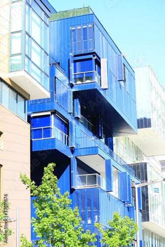 balcons d'un immeuble bbc