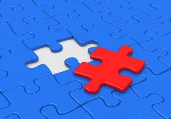 Das passende Puzzleteil