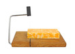 Colby Jack cheese on cutting board