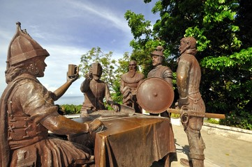 Sandugo: Blood Compact Shrine, Bohol, Philippines