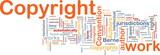 Copyright convenţie fundal conceptul