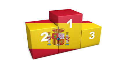 Spanish Podium