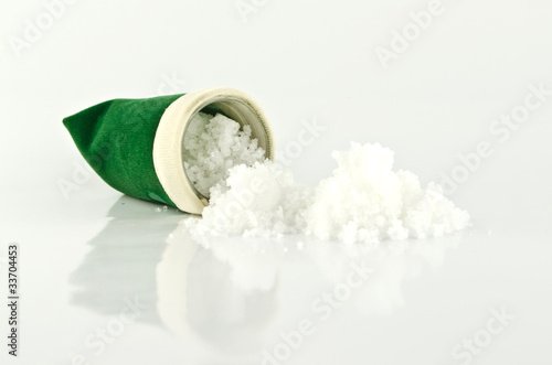 iodine Salt in a bag green