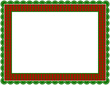 Christmas Gingham Frame