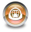 "Orange Glossy Pictogram ""Subway / Mass Transit"""