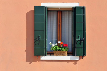 Burano Windowsill
