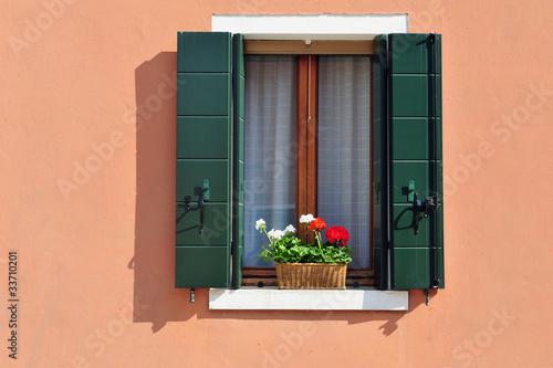 Burano Windowsill
