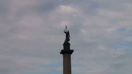 Alexander column on Palace square
