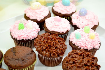 Creating Easter Cupcakes
