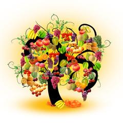 Árvore de fruta