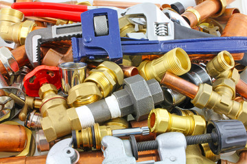 wrenches and plumbers bits