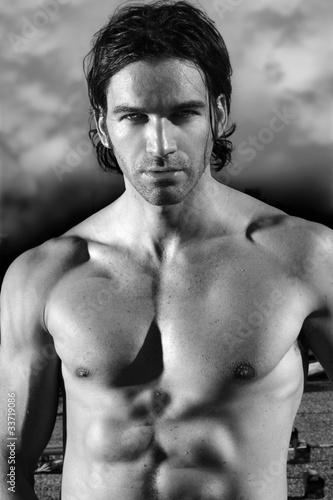 Fototapeten,mann,fitness,torsos,nackt