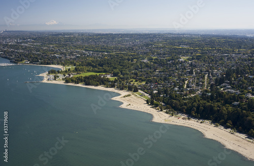 Aerial Vancouver - UBC and Point Grey