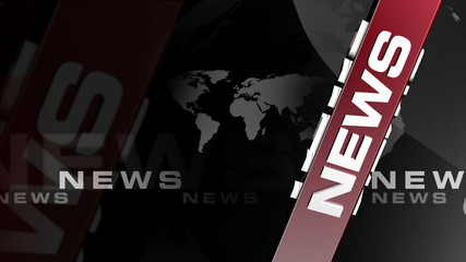 News Vertical RED broadcast background