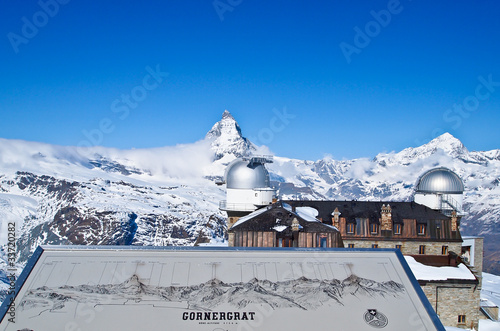 Matterhorn from Gornergrat train station, Zermatt, Switzerland