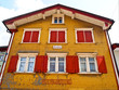 Colorful building at Appenzell, Switzerland