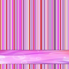 retro striped