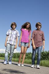 jeunes ados en vacances