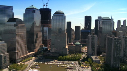 Aerial view of Midtown Manhattan
