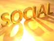 Gold Social text