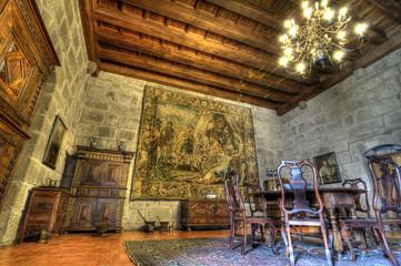 Dukes Palace of Bragança Interior, Guimarães, Portugal