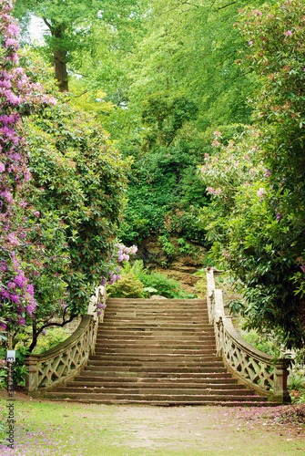 Panel Szklany Anne Boleyn garden hever castle england