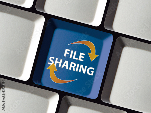 File Sharing auf Tastatur