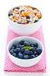 Bilberry and muesli