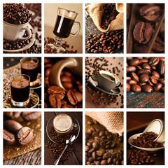 Kawa - kolaż do kuchni, kawiarni