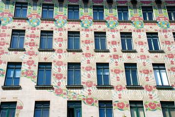 A Jugendstil Facade in Vienna