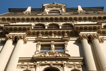 Neoclassical Facade, Vienna