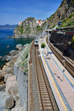 Manarola train station, Cinque Terre