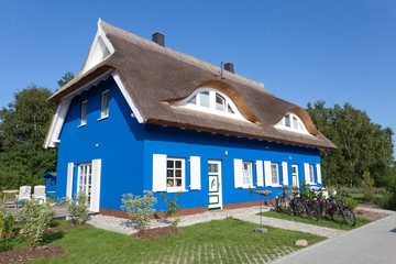 Traumhaus in Blau
