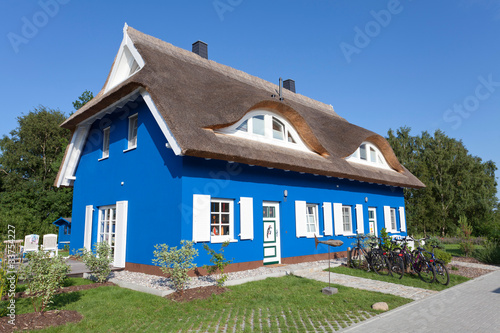 Traumhaus in Blau