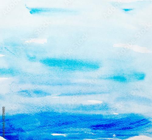 Tapeta color strokes watercolor painting art