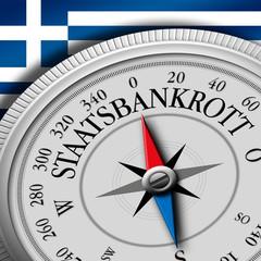 Kompass Staatsbankrott Griechenland