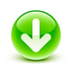 icône flèche bas / arrow icon