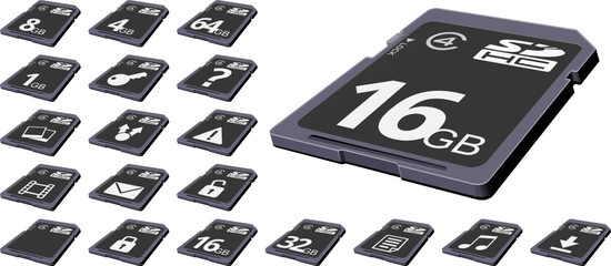 3D SDHC Cards