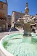 Valensole : Fontaine de la place du village