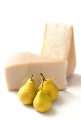 cheese and pears - formaggio e pere