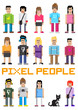 Vector Pixel People!