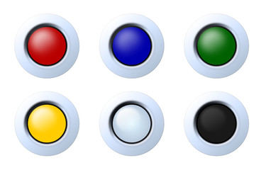 buttons blank
