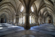 Gothic Cloisters of The Sé Cathedral, Porto, Portugal.