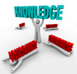 Knowledge Triumphs Over Ignorance - Learn to Grow and Win